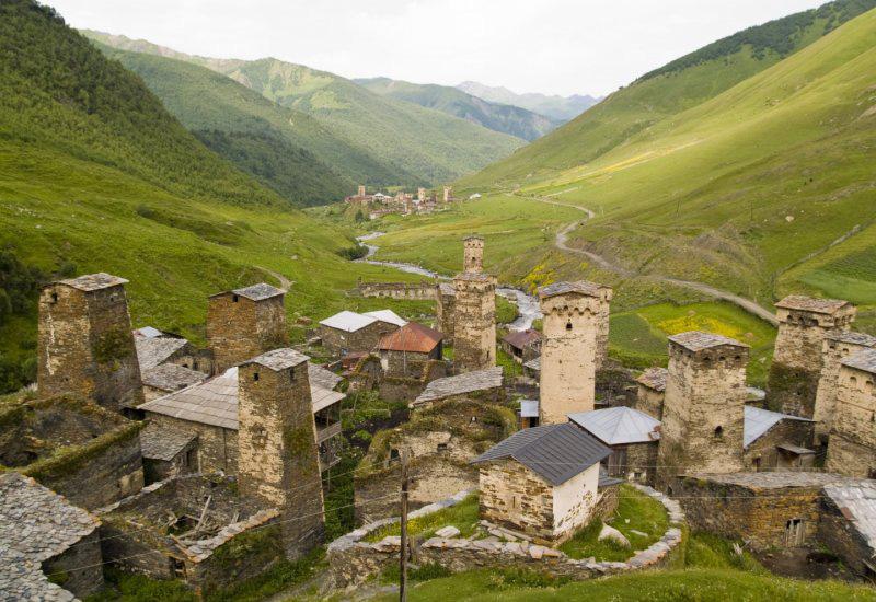 Ushguli-aldea