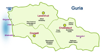 Map of Guria